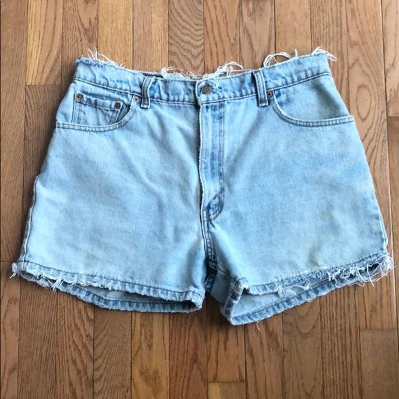 5e2fac77 Levi's Shorts   Vintage 505 Levi Size 32w Fit Like A Us 8   Poshmark